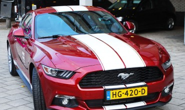 ford mustang striping