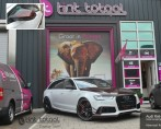 Audi RS6-R Detail wrapping & Ruit tint