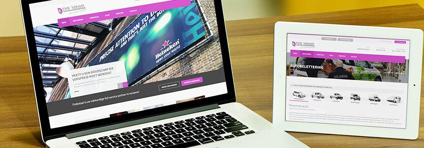 Nieuwe website TintTotaal Amsterdam