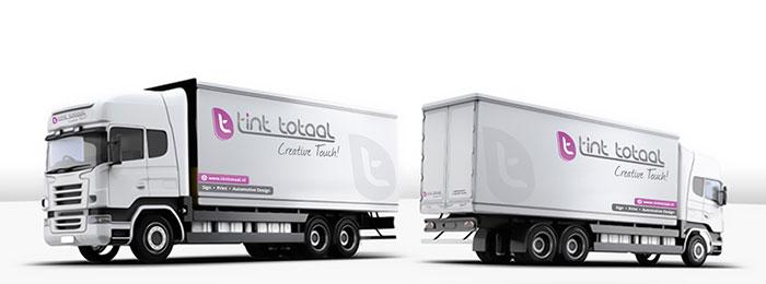 vrachtauto groot