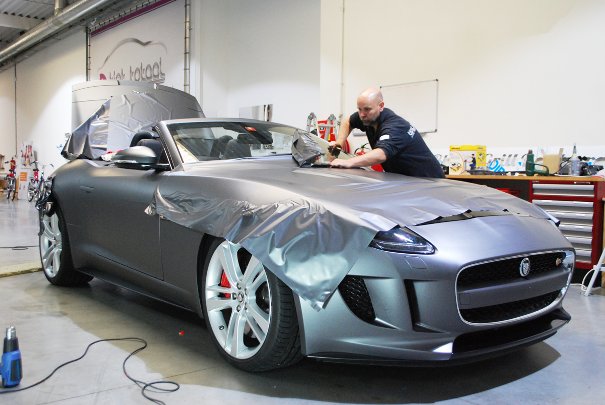 Auto Car Wrapping Car Wrappen Bij Tinttotaal Amsterdam