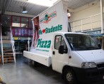Reclamewagen huren New York Pizza