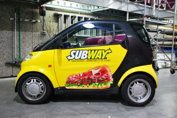 bestickering subway