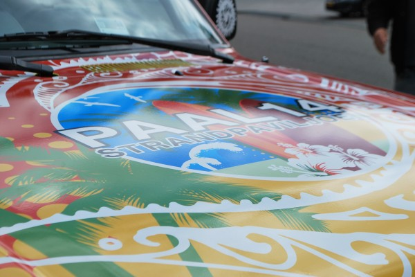 full colour car wrap