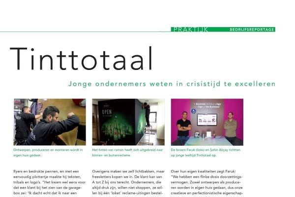 artikel tinttotaal sign plus magazine