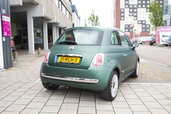 Car wrap Fiat 500