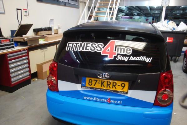 car wrap fitness4me