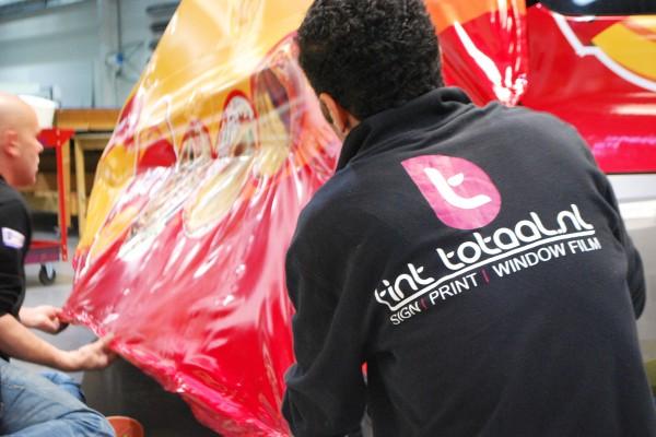 full colour car wrap