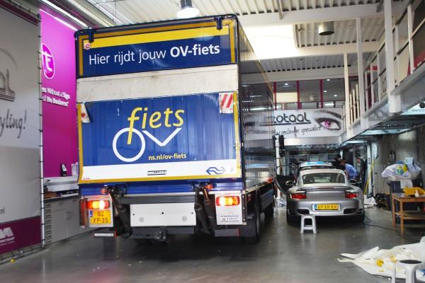 trailerbelettering ov fiets