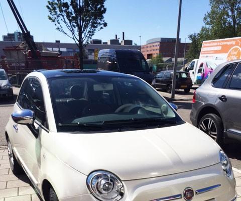 Fiat 500 voor wrap