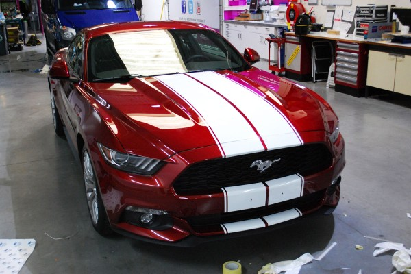 Car wrap - Car stripen