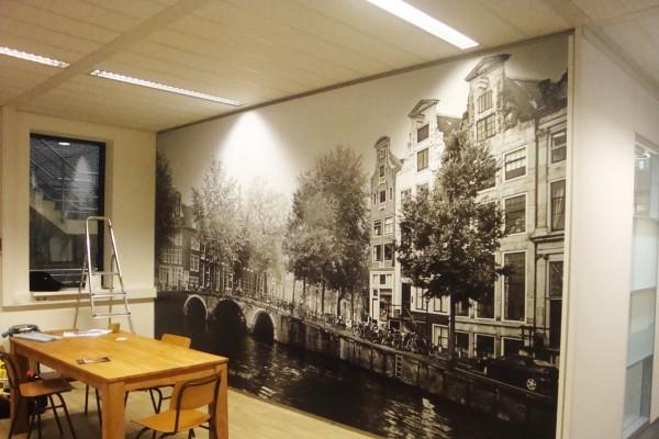 full colour wall print