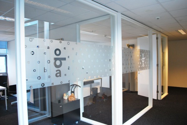 Raamfolie Tintotaal Amsterdam