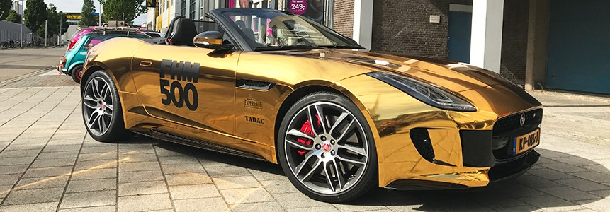 gold metallic wrap