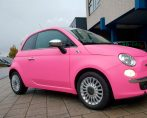 Carstyling Car Styling Fiat Hot Pink Tinttotaal Wrap