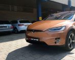 Carstyling Car Styling Tesla ModelX Tinttotaal Copper