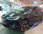 Carstyling Car Styling Tesla ModelX Tinttotaal Wrap Copper