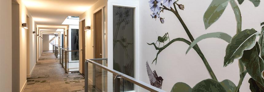 Harvest Appartement wallprint