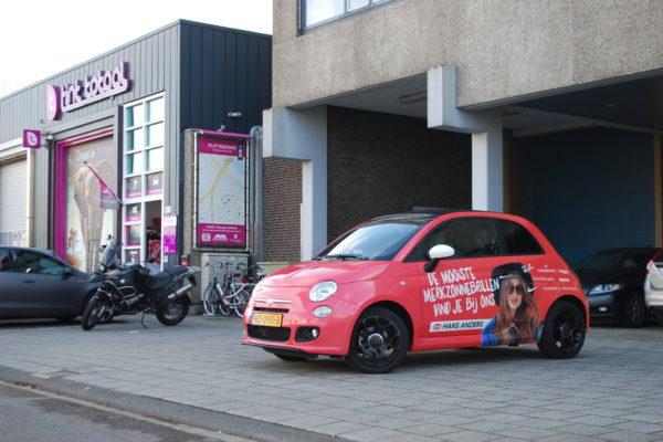 carwrap autowrap hans anders reclame design bedrijfswagen bedrijfsauto