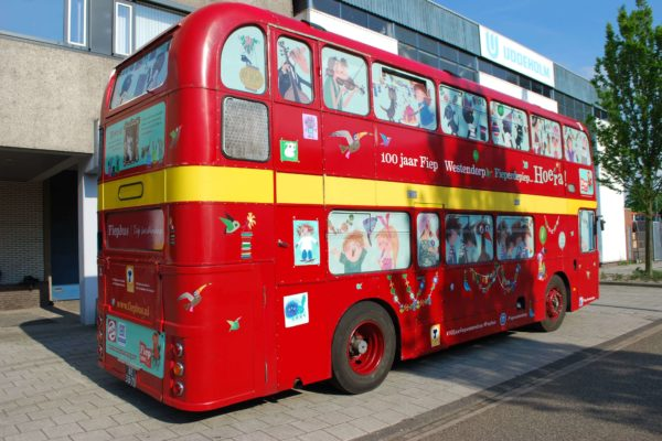 bus bestickering wrap