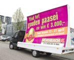 mobiele billboard wrap bestickering