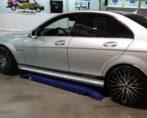 Mercedes C63 amg ramen tinten blinderen