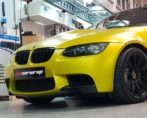 BMW M3 Satin Yellow Wrap