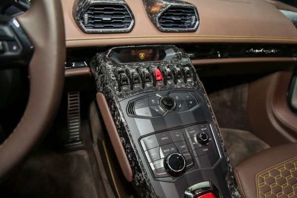 Interieur Forged Carbon Fiber