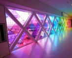 kleurenfolie transparante raamfolie