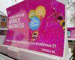 mobiele billboard wrap