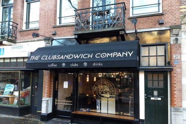 Club and Sandwich Company Amsterdam Tinttotaal