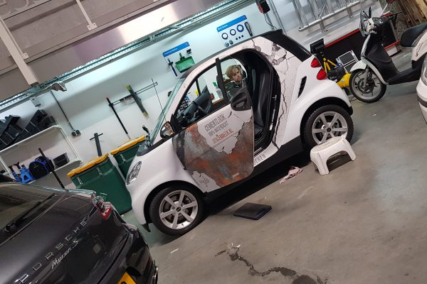 Smart Fortwo Rust Wrap
