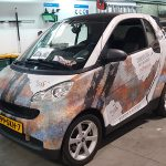Smart Fortwo Beton/Roest Wrap 2