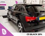 Audi A1 ramen blinderen