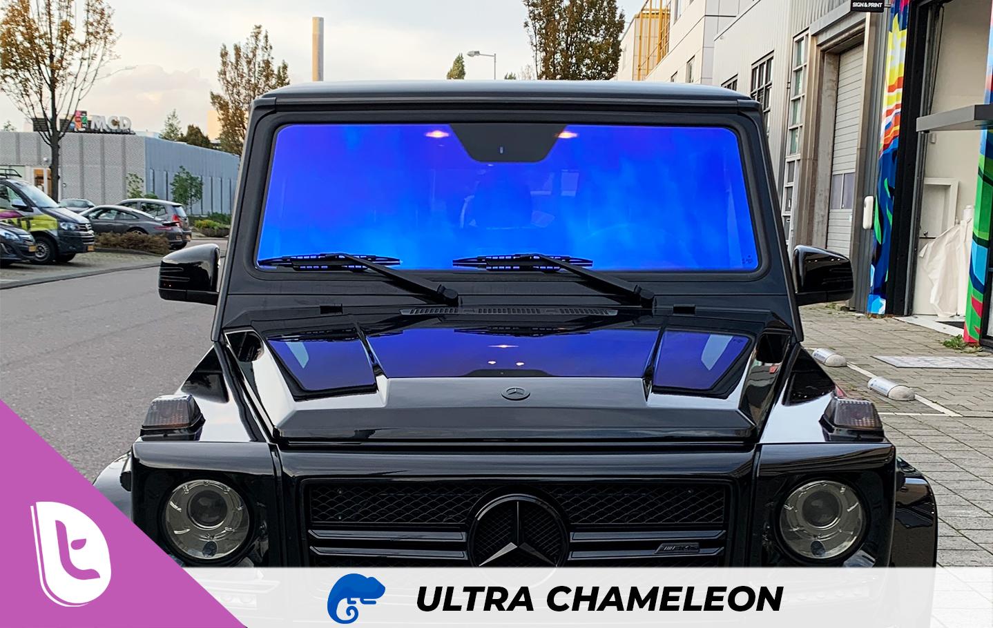 Mercedes G63 Ultra Chameleon raamfolie
