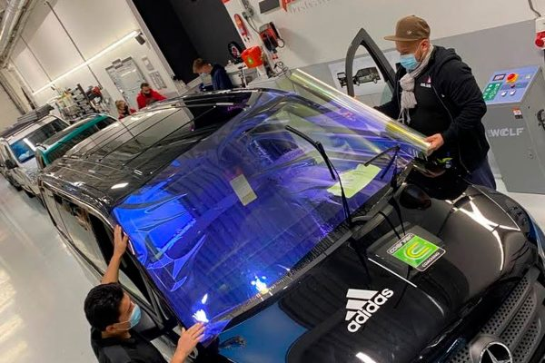 reflecterende carwrap IllumiNITE