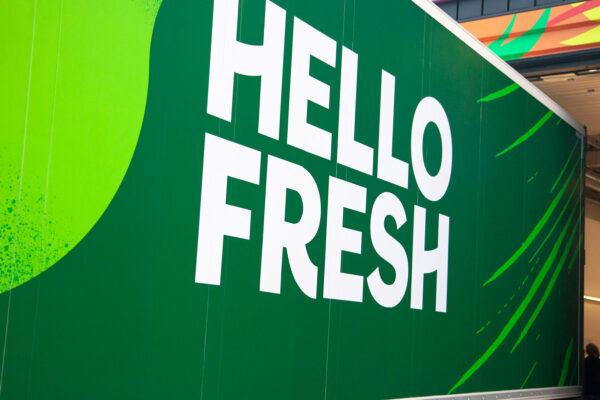 vrachtwagen bestickering HelloFresh