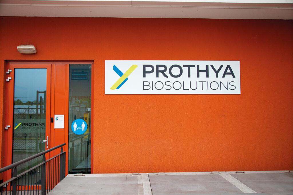 Prothya Biosolutions | Gevelreclame & Privacyfolie 2